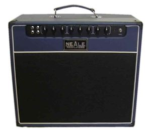 EL84 guitar amp two channel combo